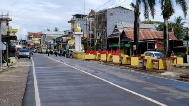 Plt Gubernur Resmikan Ruas Soppeng-Pangkajene Batas Sidrap Sepanjang 7,3 Km