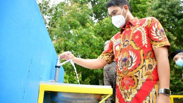 Alhamdulillah, Kini Warga Gunung Perak Nikmati Air Bersih