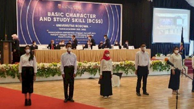 Universitas Bosowa Kukuhkan 1.359 Mahasiswa Baru, Prof Saleh: Menjadi Spirit Bagi Kami