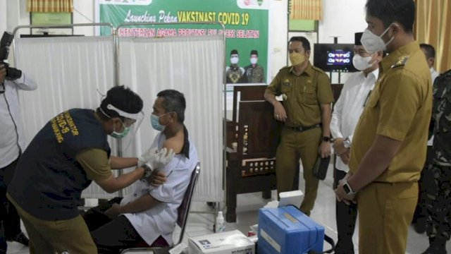 Kemenag Sinjai: Hari Ini Vaksinasi untuk 100 Siswa Madrasah