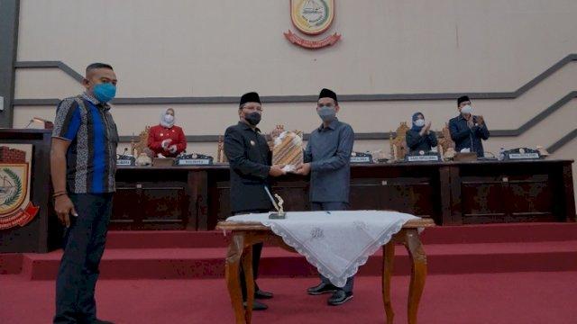 Tok! DPRD Makassar Sahkan APBD Perubahan 2021