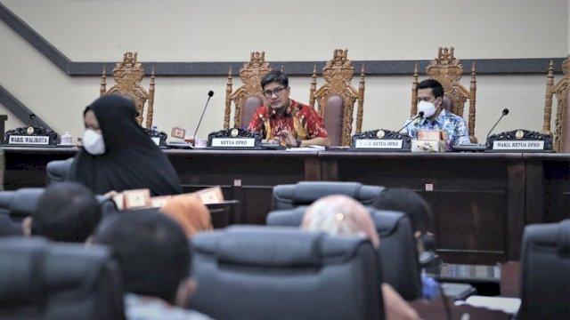 Banggar DPRD Makassar Gelar Rapat Pembahasan Rancangan PPAS Perubahan APBD 2021