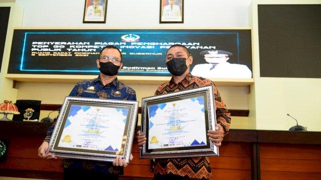 Dua Inovasi Dinas PMPTSP Sulsel Masuk Top 30 Kompetisi Inovasi Pelayanan Publik, Inovator Diganjar Penghargaan