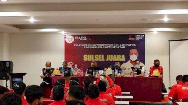 Kontingen Sulsel Terbang ke Papua Pagi Ini, KONI Targetkan 10 Besar di PON