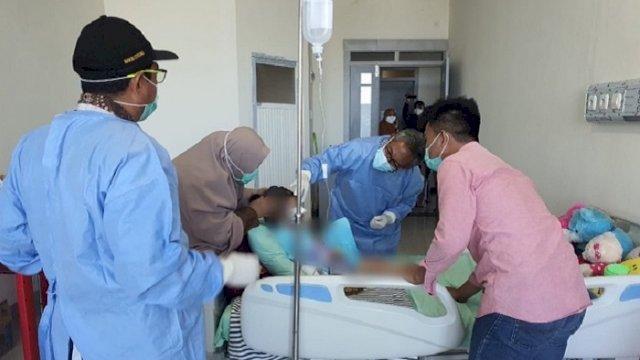 Alhamdulillah, Kondisi Mata Anak Korban Penganiayaan Orang Tua di Gowa Semakin Membaik