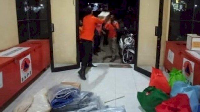 Sembilan Rumah Terbakar di Takalar, Pemprov Kirim Bantuan Logistik