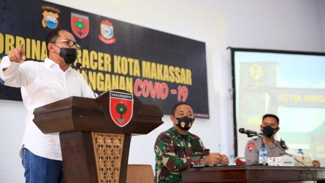 Angka Covid-19 di Makassar Menurun, Danny Minta Waspadai Varian Lambda