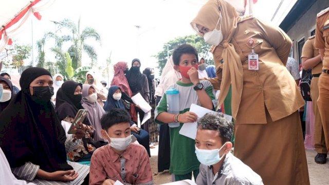 AMP Gowa Gelar Vaksinasi Massal, Target 1.000 Pelajar