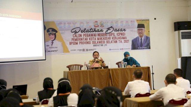 Sekkot Makassar Beri Motivasi CPNS Pemkot