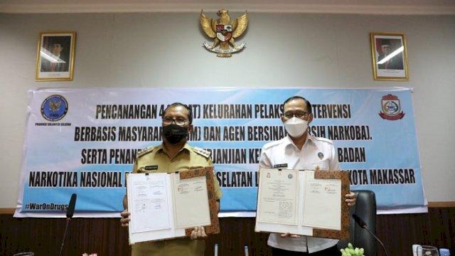 Komitmen Berantas Narkoba di Makassar, Kepala BNN Kukuhkan Empat Kelurahan Bersih Narkoba