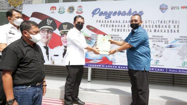 Pemkot Makassar Terima Penyerahan PSU Perumahan dari Pengembang, Ini Rinciannya