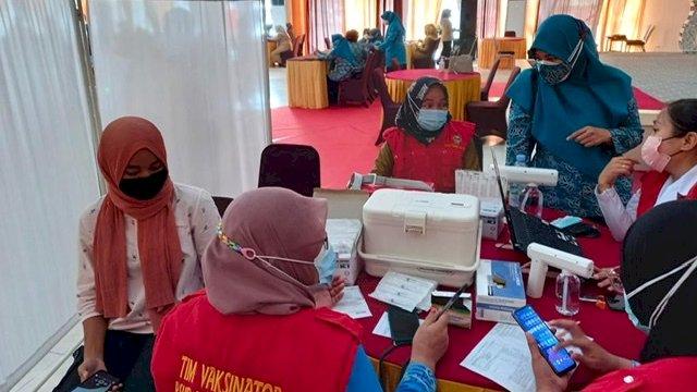 PKK Sulsel Kebut Vaksinasi Serentak 24 Kabupaten/Kota, Target 100 Orang per Desa