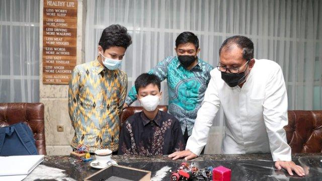 Tiga Siswa MAN 1 Makassar Target Juara 1 Lomba Asean Robotic Day di Jakarta