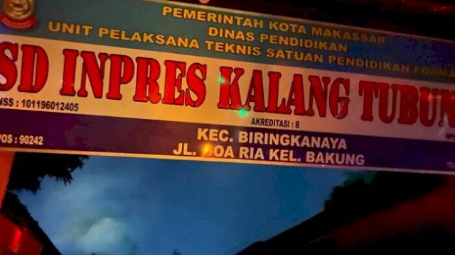SD Inpres Kalang Tubung Makassar Terbakar, Damkar Turunkan 8 Armada