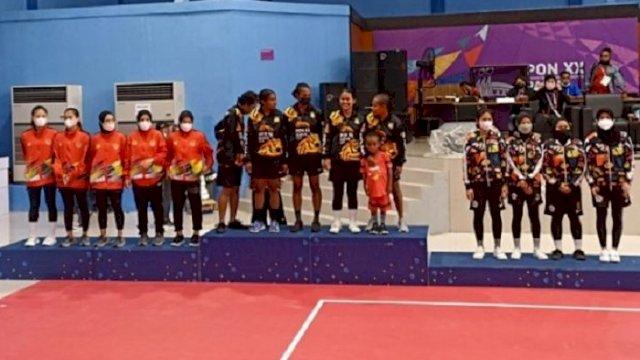 PON Papua: Sulsel Raih Medali Pertama, Sepak Takraw Putri Persembahkan Perak