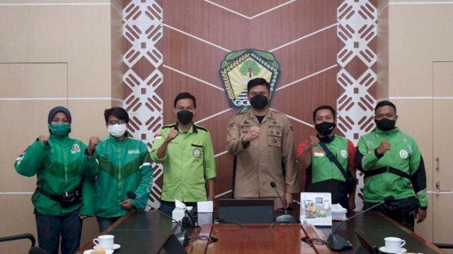 Ayo Ikutan! 28 Oktober Digelar Vaksinas Gabungan Ojek Online di Gowa