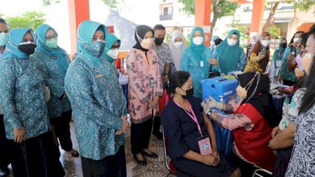 Launching Vaksinasi Covid-19 bagi Ibu Hamil, Ini Harapan Indira Yusuf Ismail