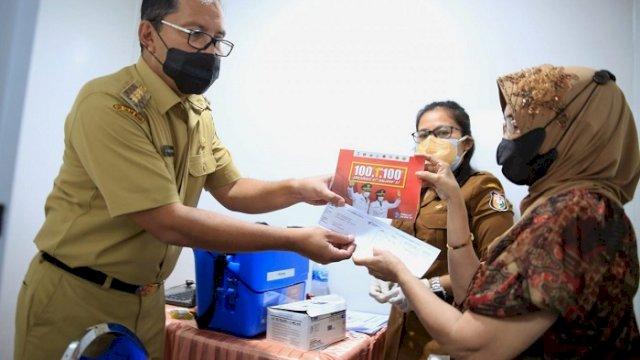 Kampanyekan Vaksinasi Sapu Jagad, Danny: Konsepnya 100 RT 1 Hari 100 Persen