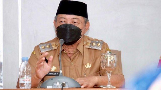 Wakil Bupati Gowa, H Abd Rauf Malaganni.