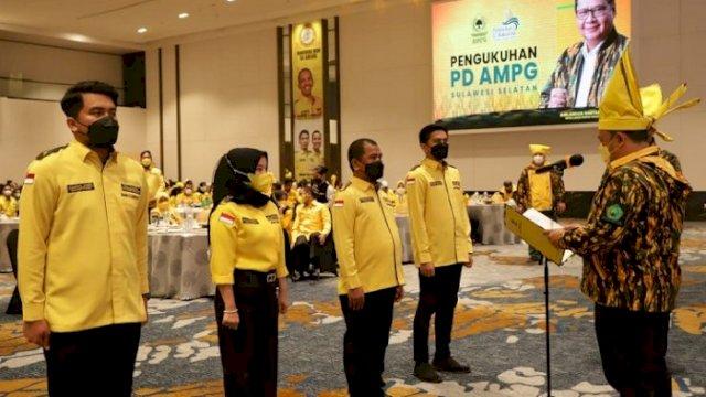 Rahman Pina Jadi Ketua AMPG Sulsel, Zulham Arief Sekretaris, Andi Ayu Bendahara