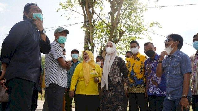 Ketua DPRD Sulsel Kunjungi Pangkep, Pantau Progres Pemelihargaan Jalan