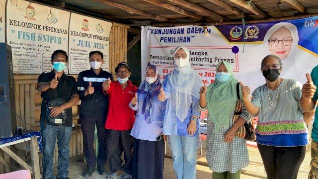 Ketua Komisi B DPRD Sulsel, Andi Rachmatika Dewi melakukan Kunjungan Daerah Pemilihan (Kundapil), di Kelurahan Panambungan, Kecamatan Mariso, Senin (4/10/2021).