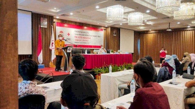 PMI Makassar Gelar Orientasi Perekrutan Anggota Sibat, Begini Harapan Deng Ical