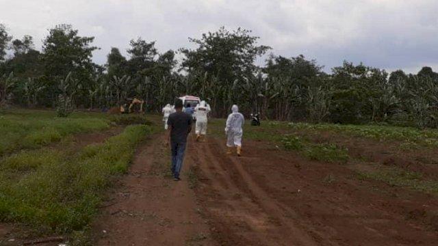 TPK Macanda Penuh, Pemakaman Jenazah Pasien Covid Dipindahkan ke TPK Paccellekang