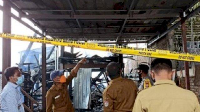 3 Rumah di BTN Antara Makassar Terbakar, Damkar Kerahkan 9 Armada