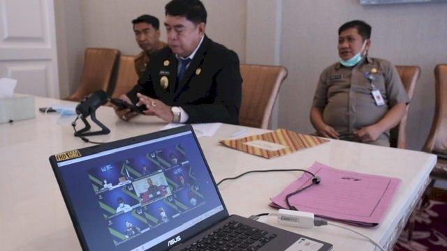 Paparkan Baruga Lounge ke KI Pusat, Abdul Hayat: Miliki Fasilitas seperti Lobby Hotel