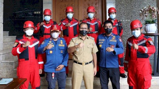 Bantu Penanganan Banjir dan Longsor, Danny Pomanto Kirim Tim Rescue Damkar Makassar ke Luwu